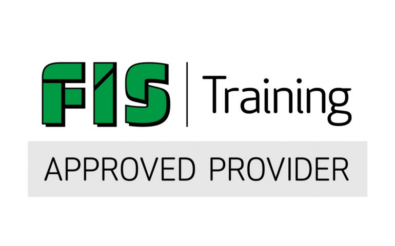 The FIS Approved Provider Logo - VELA Training