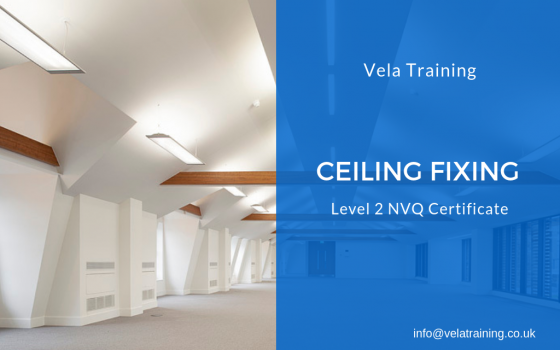 Ceiling Fixing NVQ Level 2