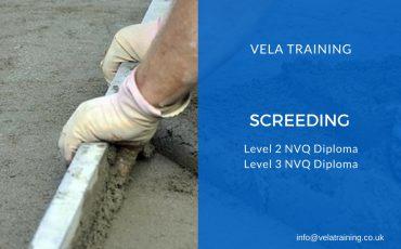 Screeding NVQ - VELA Training