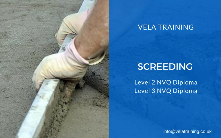 Screeding NVQ - VELA Training
