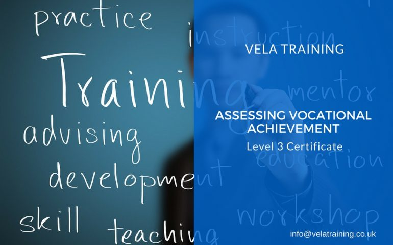 Assessing Vocational Achievement - VELA Training