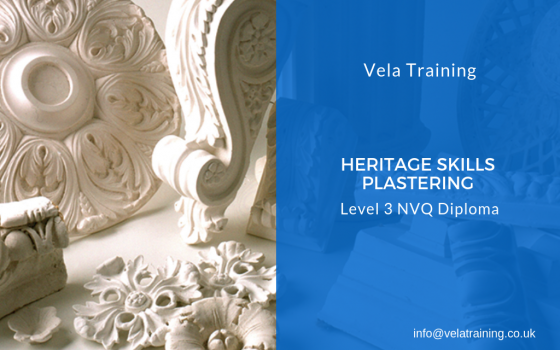 Heritage Skills-Plastering Occupations NVQ Level 3
