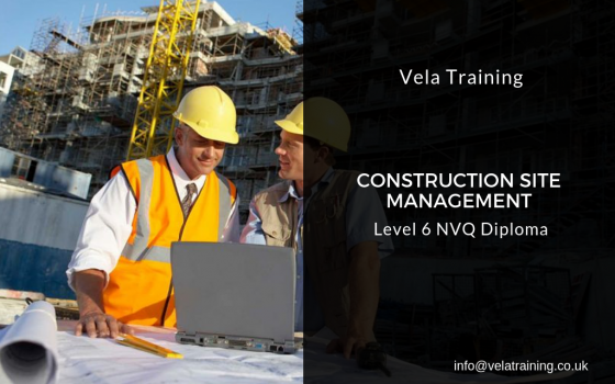 Construction Site Management NVQ Level 6