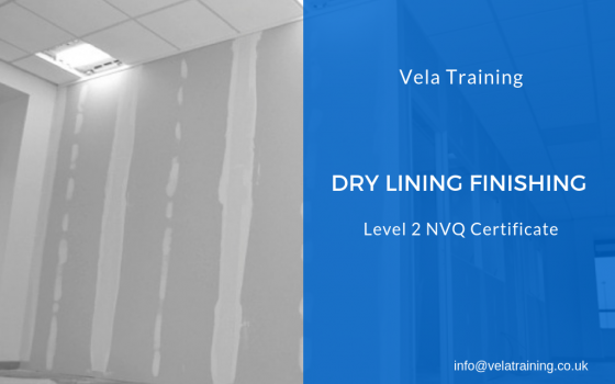 Dry Lining Finishing NVQ Level 2