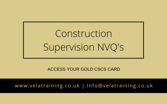Supervision NVQ's