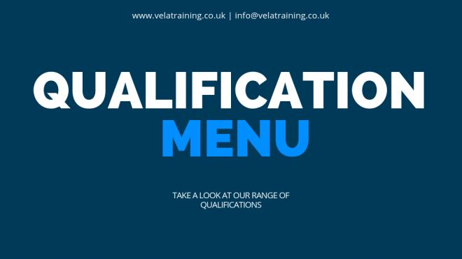 Qualifications Menu