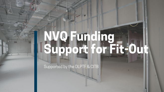 Funding Support for Fit-Out NVQs